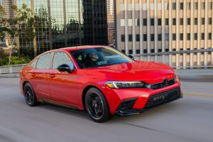 The 2022 Civic Sport with HPD Package