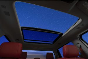 A big sunroof is here to let you explore the galaxy