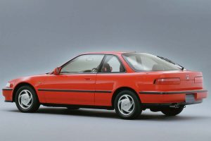 The 2nd generation Integra Coupe