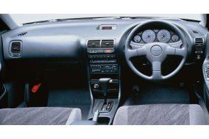 The 3rd generation Integra 4-door Hardtop