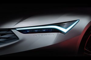 The headlight for the 2022 Acura Integra