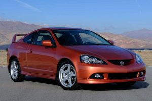 The Acura Integra Type S, discontinued in 2006