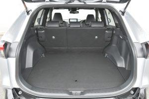Interior of the RAV4 PHV