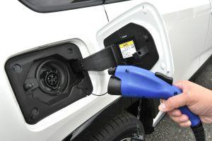 Charging port for the RAV4 PHV