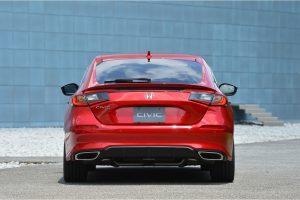 The Honda Civic Hatchback for the Japanese market