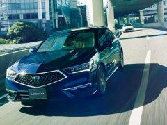LEGEND Hybrid EX・Honda SENSING Elite