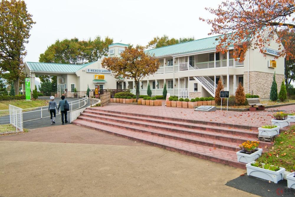 東北自動車道にある「E-NEXCO LODGE 佐野SA店」(写真提供:NEXCO東日本)