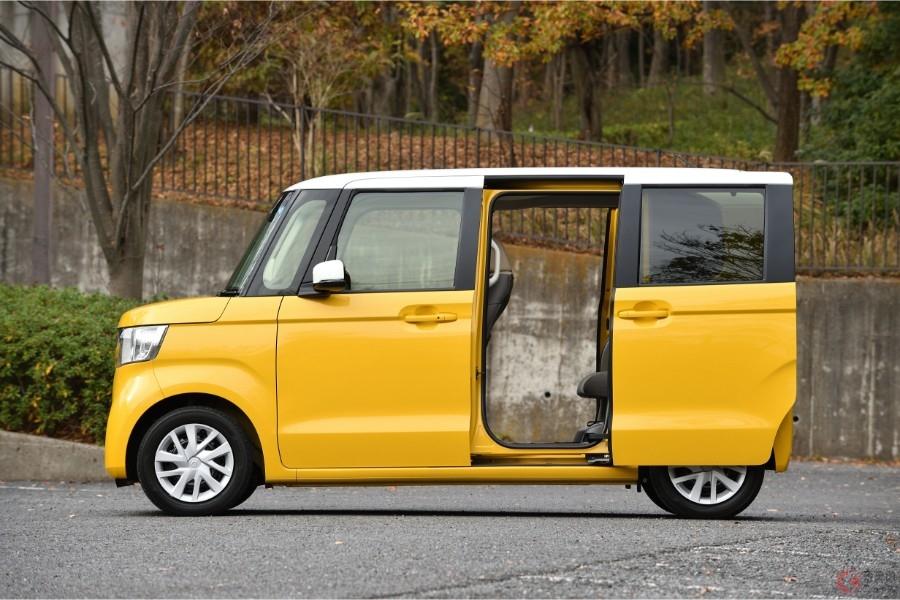 便利なスライドドアを採用している軽自動車No.1のホンダ「N-BOX」