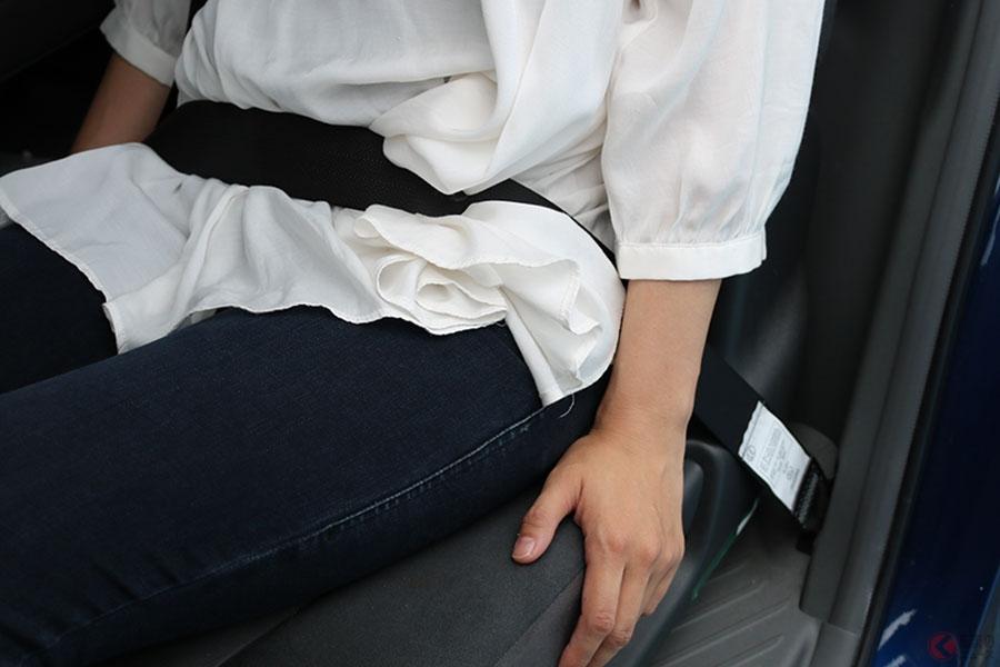 後部 座席 シート ベルト 義務 化