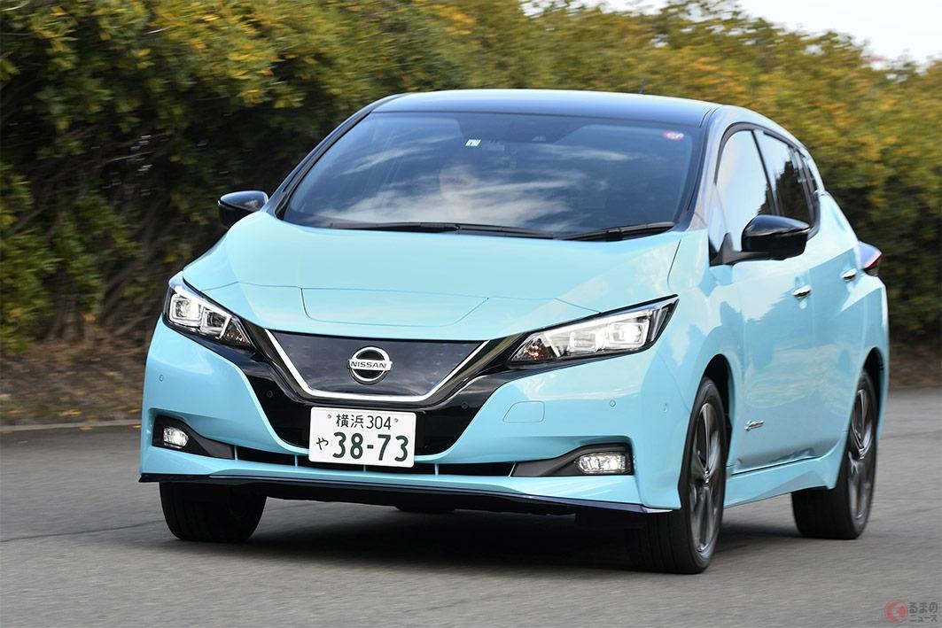 移動だけじゃない需要が急速に増えつつある電気自動車の日産「リーフ」