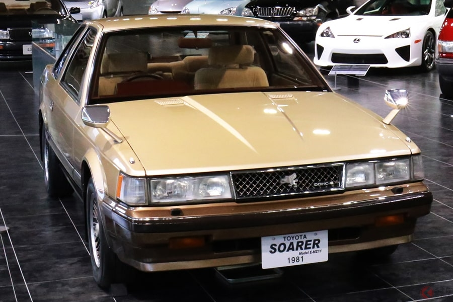 「ハイソカー」の火付け役にもなったスペシャルティカー「ソアラ」