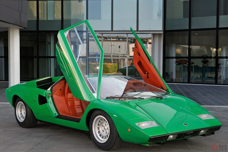 スーパーカーといえばランボルギーニ「カウンタック」! 夢の時速300キロは出たのでしょうか。