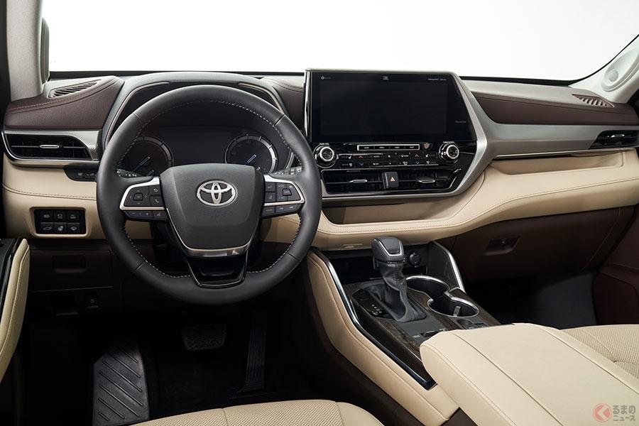トヨタ、今度は3列suvを全面刷新! 新型「ハイランダー」公開 日本は過去に「クルーガー」で販売 くるまのニュース