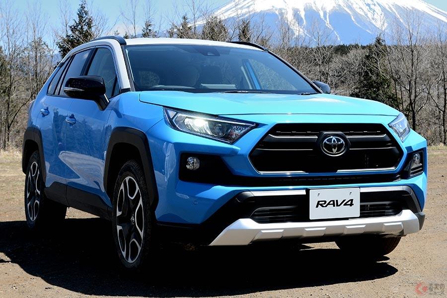 北米市場を中心に人気の新型「RAV4」は日本でも売れ筋SUVに