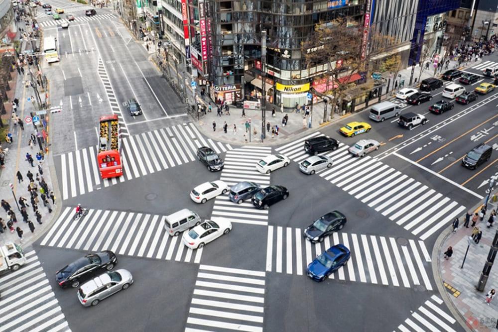 交差点事故どう防ぐ? 全国に広がる歩車分離式信号機の効果とは ...