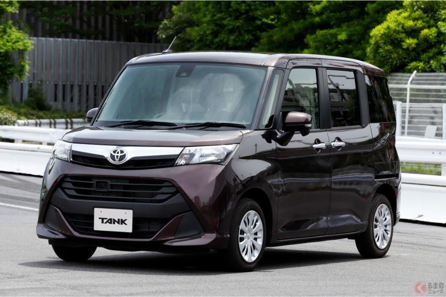 トヨタ「タンク」
