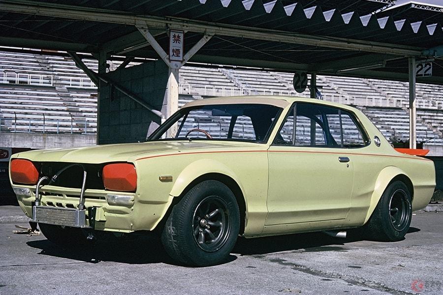 ジュンちゃんの「ハコスカ」のモチーフとなった日産「スカイラインGT-R」のレース仕様