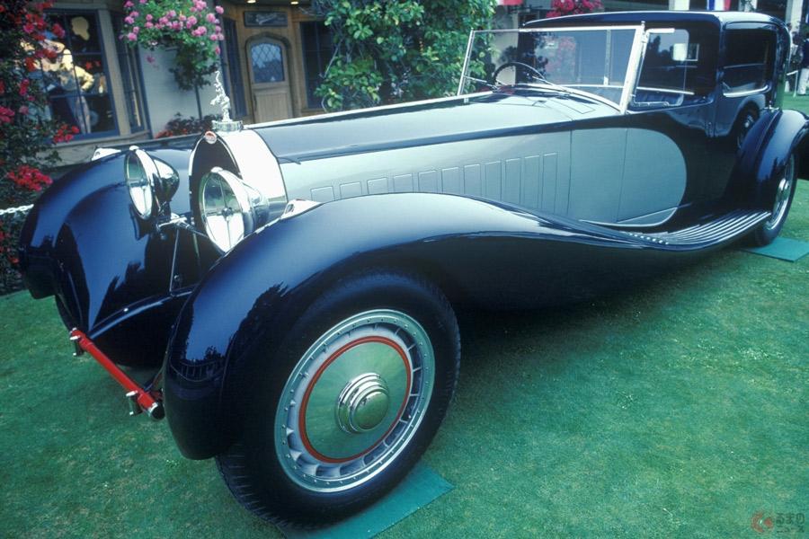 幻の超大排気量車として知られるブガッティ「T41ロワイヤル」