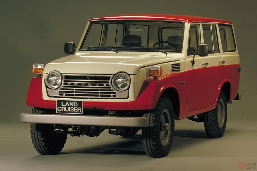 1967年に登場したランドクルーザー「55」型