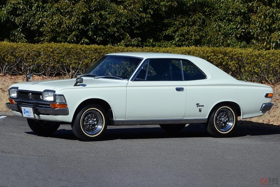 かつてはトヨタ「クラウン」など高級セダンをベースにしたクーペが多かった
