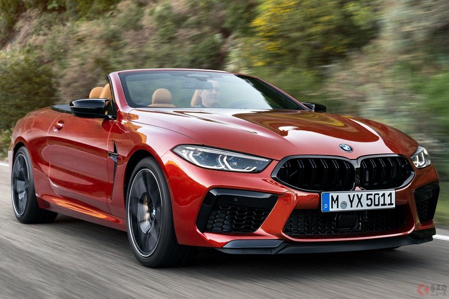 BMW「M8」のオープンモデル「M8 カブリオレ」