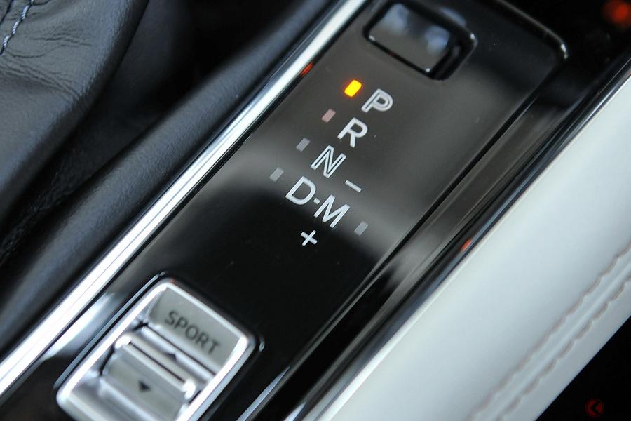 マツダ CX-5のMTモードは一般的なパターンとは逆になっている