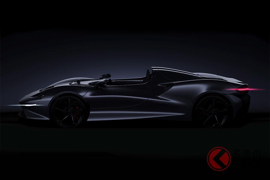 マクラーレンの新型ロードスターモデル。2020年登場予定