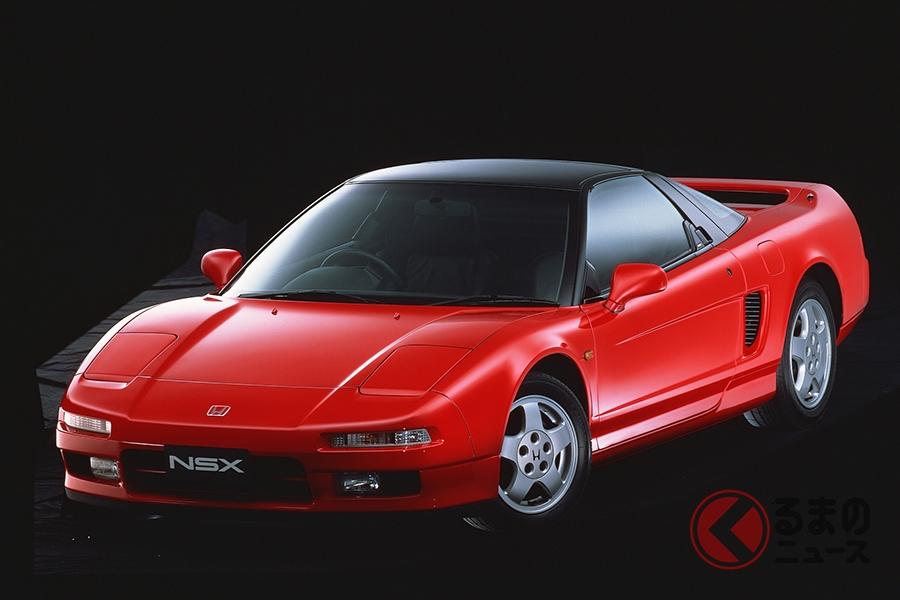 ホンダ「NSX」(初代、1990年発売)