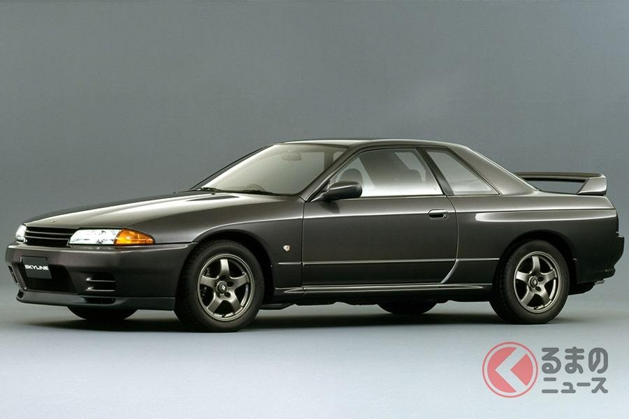 日産「スカイラインGT-R」(BNR32型、1989年発売)