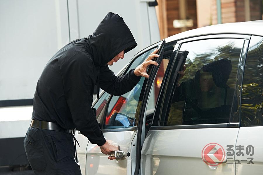 自動車盗難の被害は2019年に7000台以上発生している(写真はイメージ)