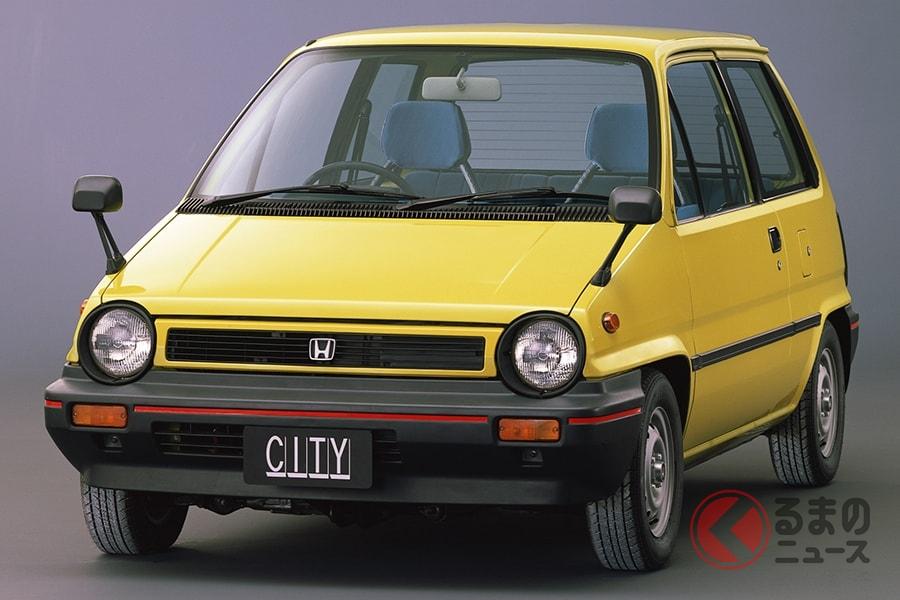 コンパクトカーの概念を覆すほどのインパクトがあったホンダ「シティ」