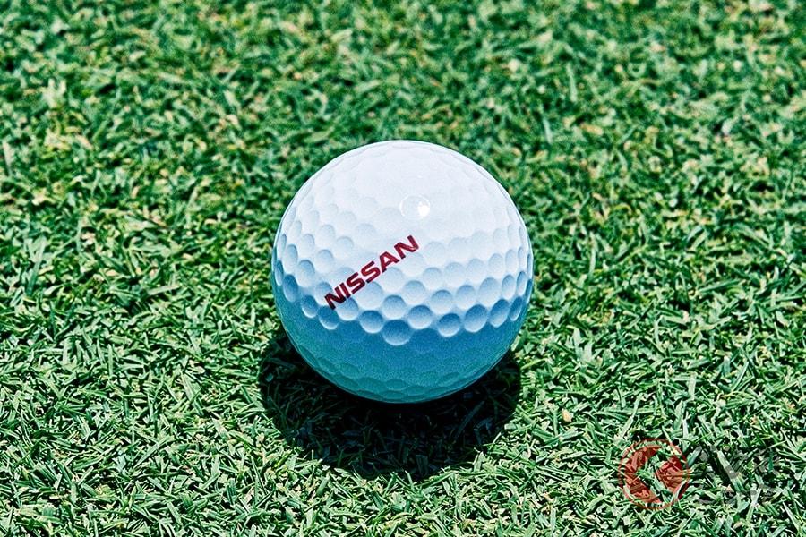 日産が開発した確実にカップインするゴルフボール「ProPILOT GOLF BALL」
