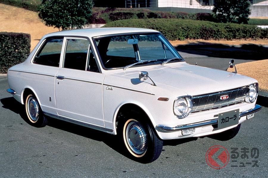 初代「カローラ」世界を代表する大衆車はここかスタートした