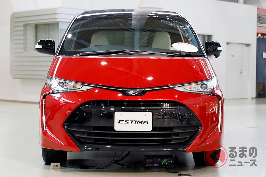 2019年10月に生産を終えるトヨタ「エスティマ」