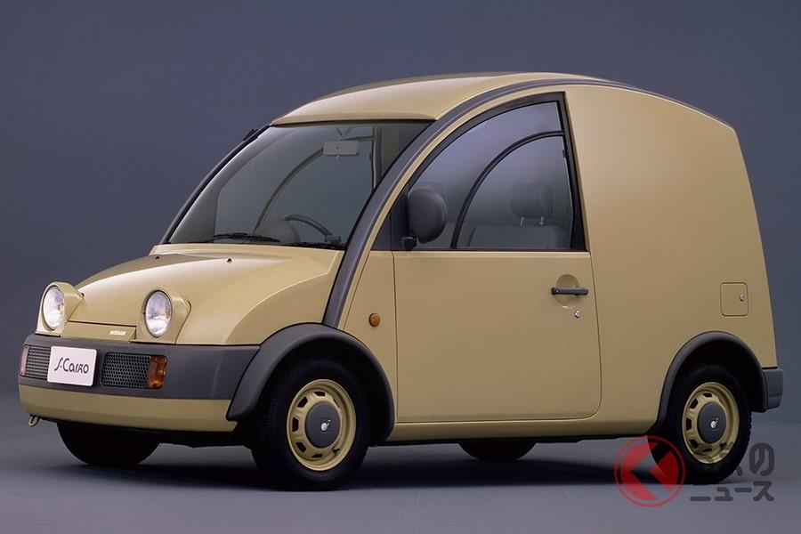 奇抜なデザインながら商用車として優秀だった「エスカルゴ」