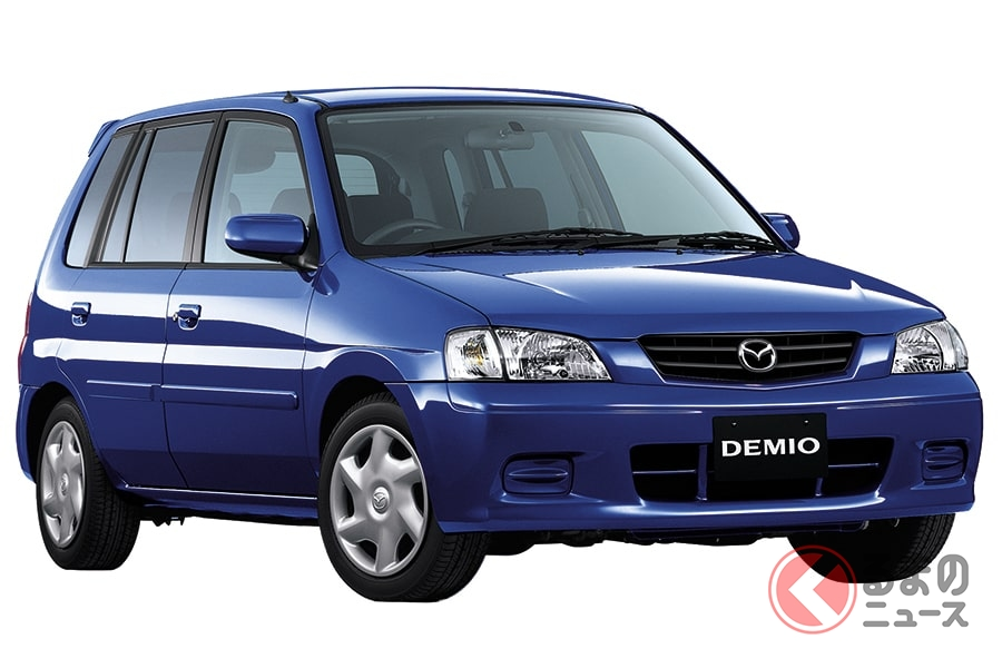 使い勝手のよい低価格なベーシックカーだった初代「デミオ」