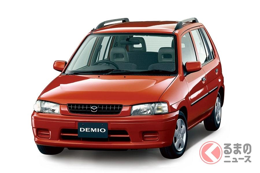 新世代のコンパクトカーとしてデビューした初代「デミオ」