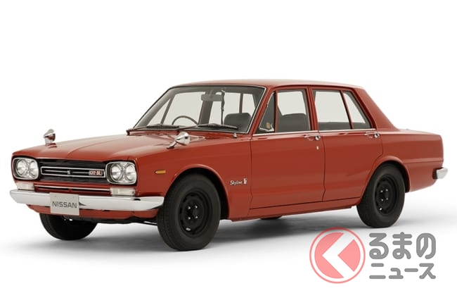 初代「GT-R」登場の1969年は当たり年!? 50年前に発売された名車・迷車5 ...
