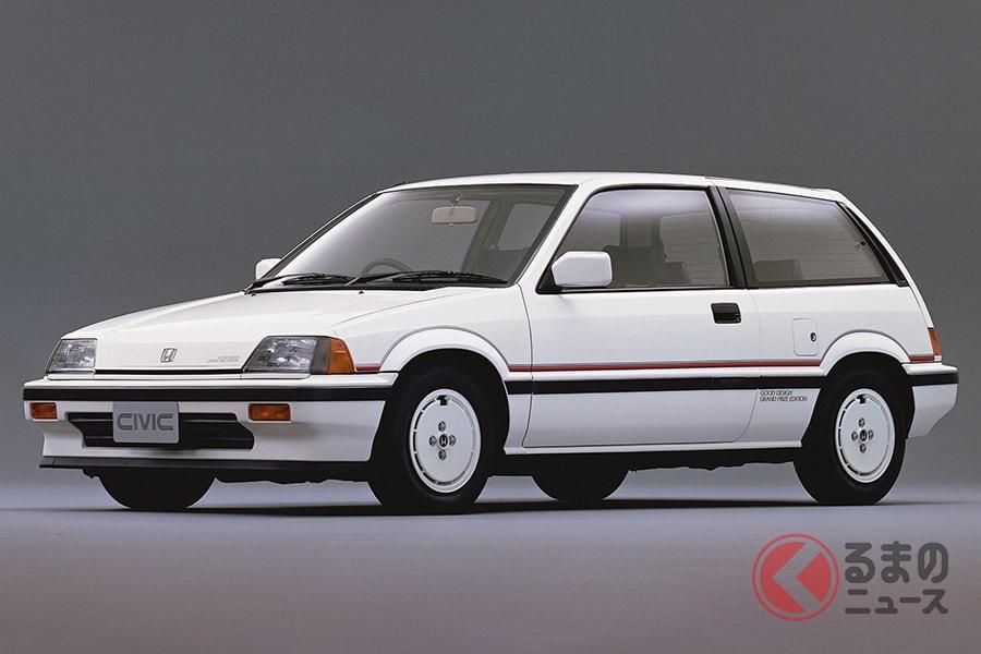 「シビック」のグッドデザイン大賞受賞を記念して販売された特別仕様車