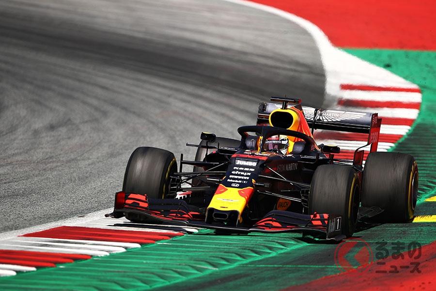 2019年7月のオーストリアGPで初優勝したレッドブル・レーシング