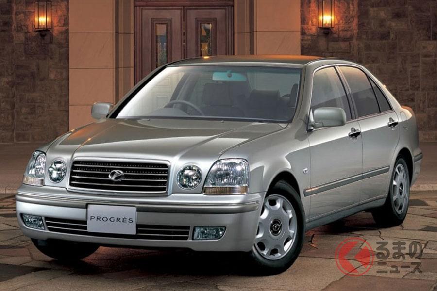 小型の高級車を目指すも若年層には受け入れられなかった「プログレ」