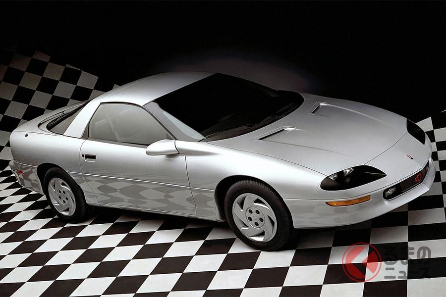 ポインター号をはじめ「カマロ」など何度かアメリカ車も使われた