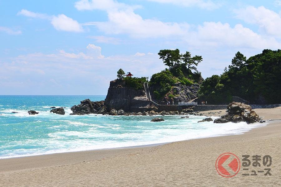 坂本龍馬ゆかりの桂浜(高知県高知市)
