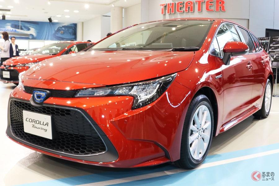 欧州市場で好調なトヨタ「カローラ」(画像は日本仕様のカローラツーリング)