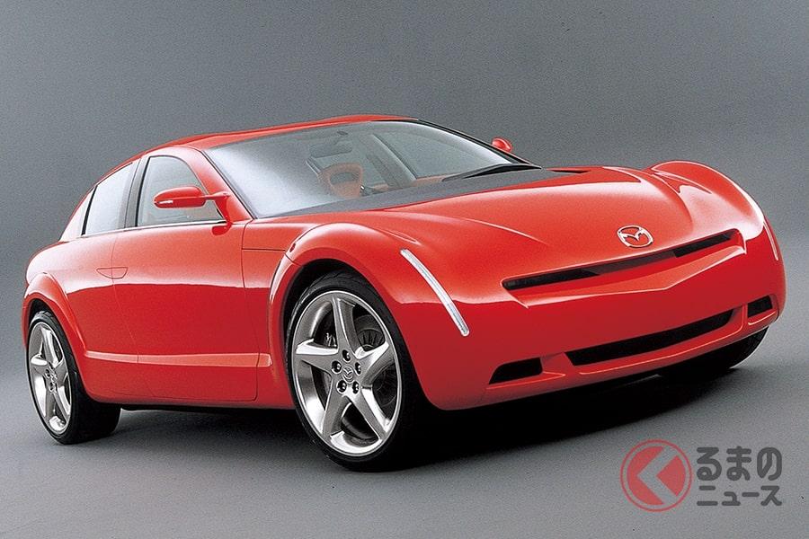 「RX-8」につながるスタディモデルの「RX-EVOLV」