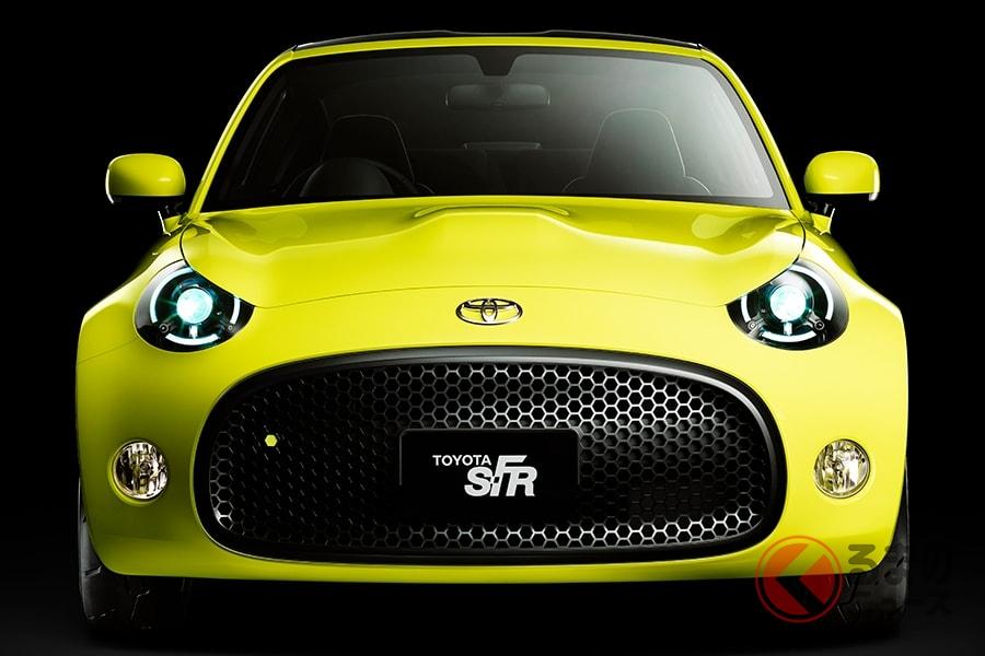 市販化間近といわれていたトヨタの「S-FR」