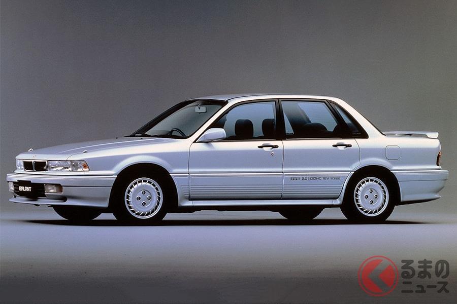 三菱車が数多く登場した「ゴリラ」でも存在感のあった「ギャラン VR-4」