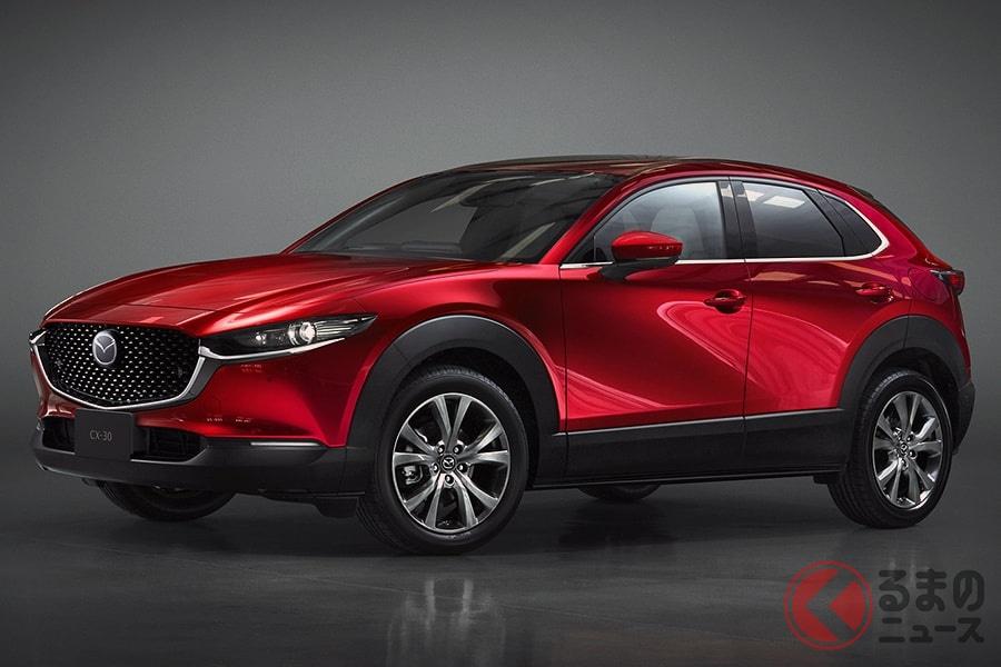 新型SUVの「CX-30」はガソリン車すべてでMTを選ぶことができる
