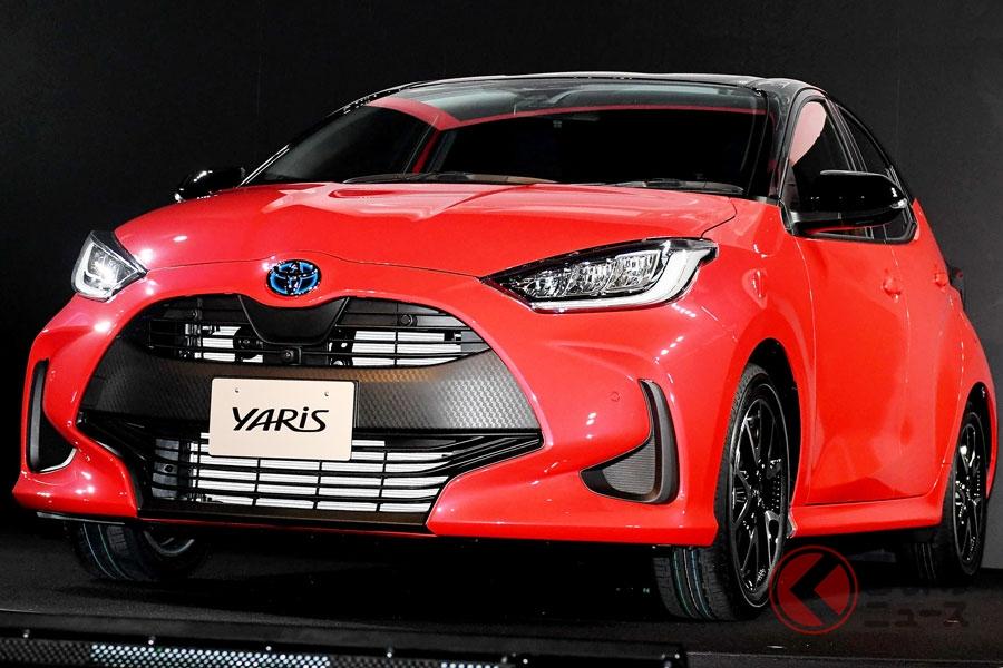 ヴィッツから車名が変更された新型「ヤリス」