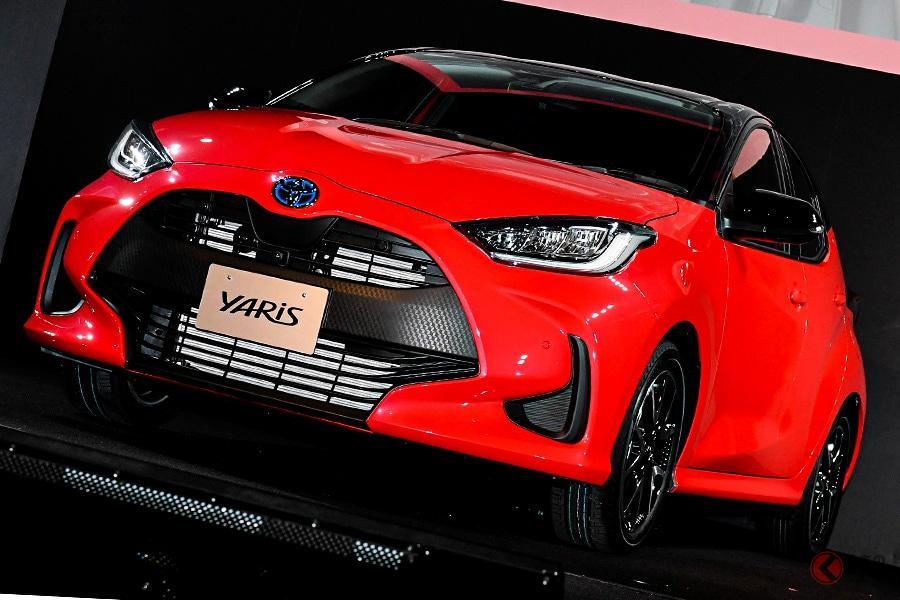 激化するコンパクトカー市場で、2019年10月にヴィッツからヤリスに車名変更